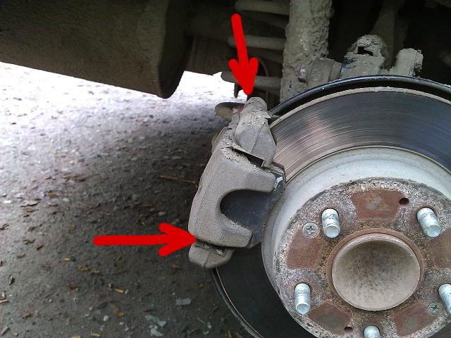 пошаговая инструкция по замене тормозных колодок - фото 8