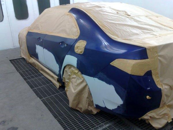 Покраска кузова автомобиля своими руками и отдельных его деталей
