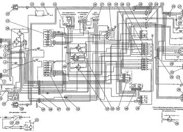 Электропроводка МТЗ-80 Схема Цветная