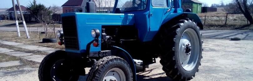 Трактор МТЗ-81