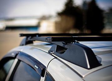 Багажник на универсальные и модельные рейлинги