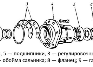 Передний Мост Трактора МТЗ-82