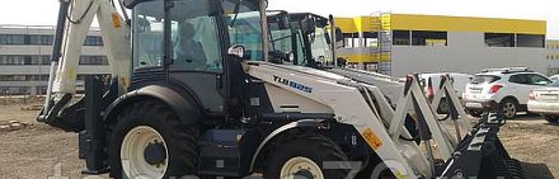 Экскаватор-погрузчик terex tlb 825: технические характеристики