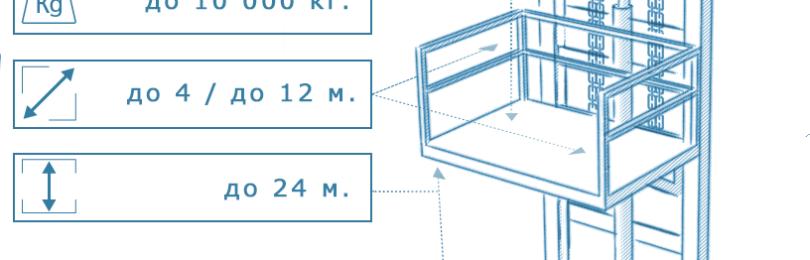Консольный подъемник: виды, устройство, принцип работы
