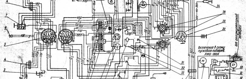 Электропроводка МТЗ-80