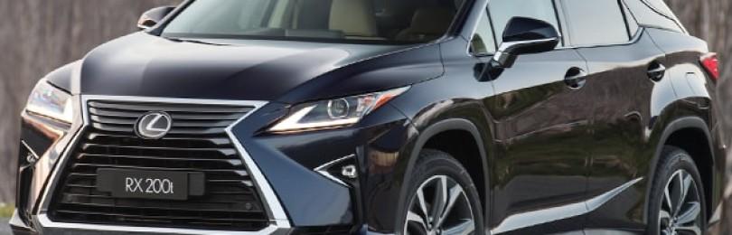 Обзор Lexus RX200