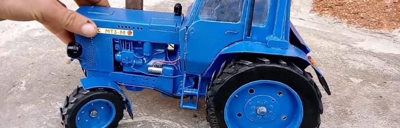 Трактор МТЗ Синий