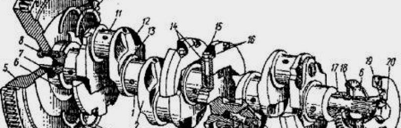 Размеры Коленвала МТЗ-80