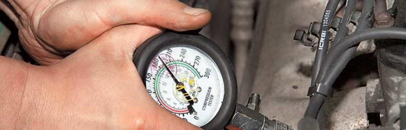 Как самому измерить компрессию в цилиндрах?