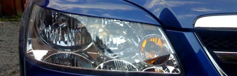 Реснички на фары — недорогой метод обновления дизайна автомобиля