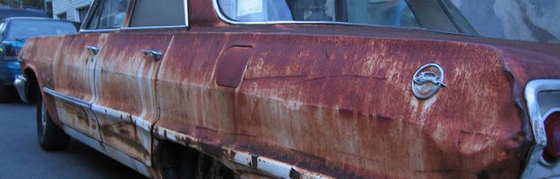 Как и чем удалить ржавчину с кузова автомобиля?
