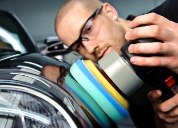 Виды и процесс полировки кузова
