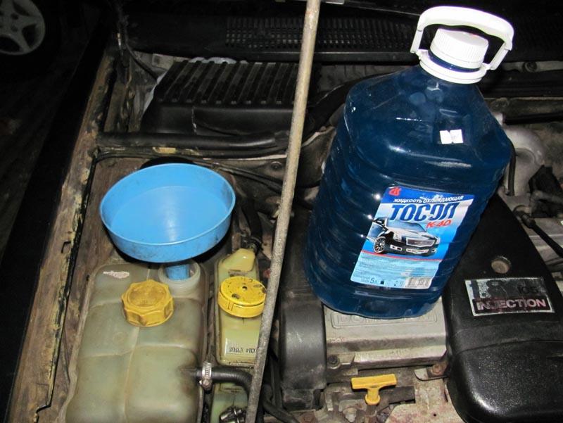 Жидкость для охлаждения двигателя