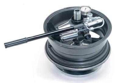 Правка и прокатка литых дисков