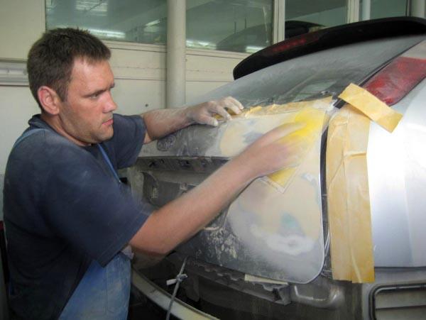 Подготовка кузова к покраске