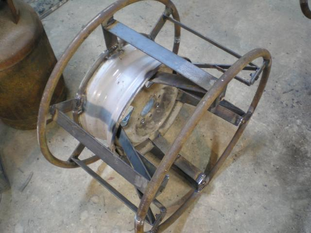 Изготовление диска для шин низкого давления