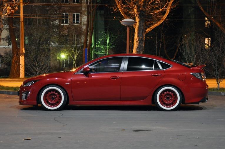 Авто с крашенными дисками