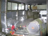 Улучшение шумоизоляции на УАЗе