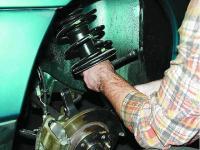 Замена амортизаторов на ВАЗ 2110