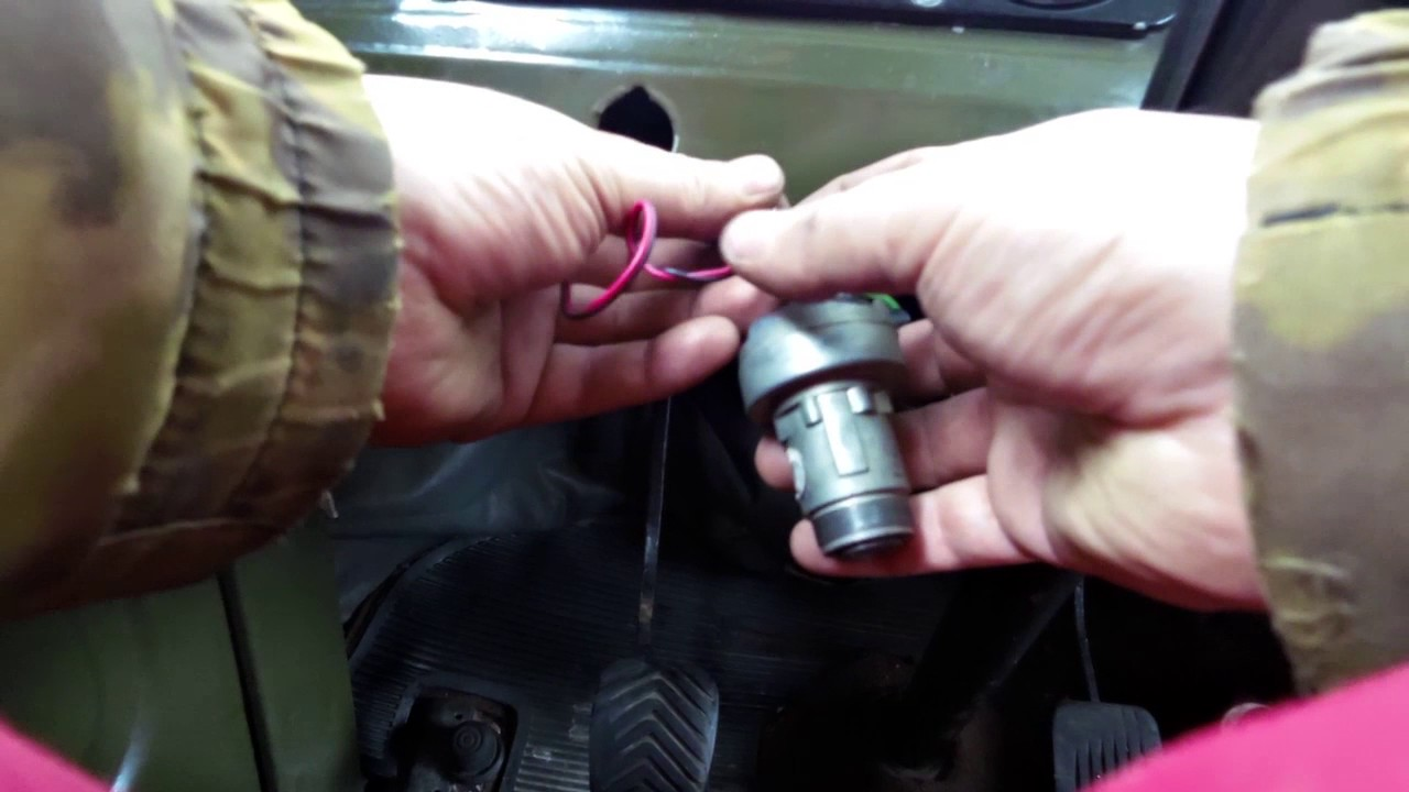 замок зажигания уаз буханка: устройство, схема подключения