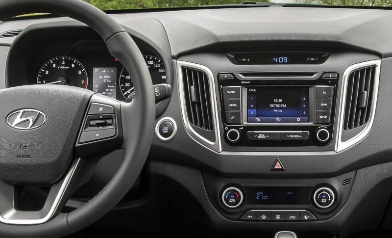 Штатная магнитола для Hyundai Creta